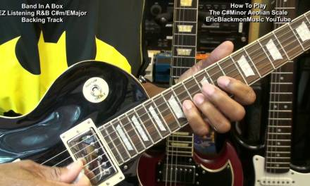 How To Play C# Aeolian Scale Guitar Solo In Less Than 5 Minutes Easy Lesson