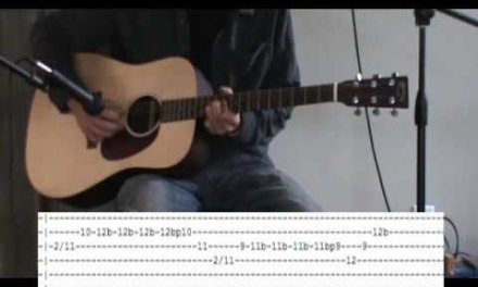 Jimi Hendrix All Along The Watchtower Acoustic Guitar Lesson – Tab