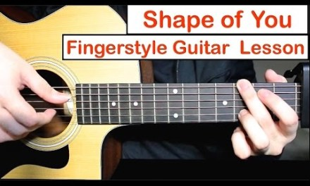 Shape of You (Ed Sheeran) – Fingerstyle Guitar Lesson (Tutorial) How to play Fingerstyle Guitar