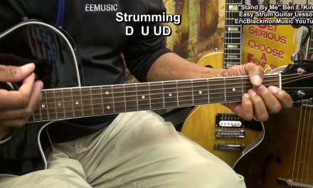 How To Play STAND BY ME On Guitar Lesson Easy Strum Ben E. King EricBlackmonGuitar HD