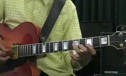 Takashi Nakamura  Jazz Guitar lesson Part 3  Blue Bossa (Cm)