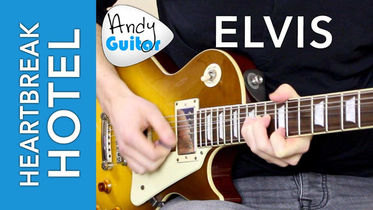Heartbreak Hotel Solo Lead Guitar Lesson Tutorial Elvis Scotty