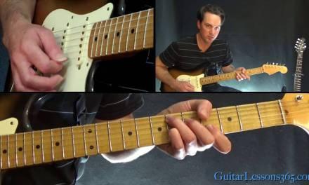 David Bowie – Let's Dance Guitar Lesson – Chords/Rhythms