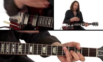 Robben Ford Guitar Lesson – G Slow Blues 2nd Chorus Breakdown 2