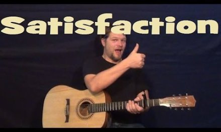 Satisfaction (Rolling Stones) Easy Strum Chord Guitar Lesson How to Play Satisfaction Tutorial