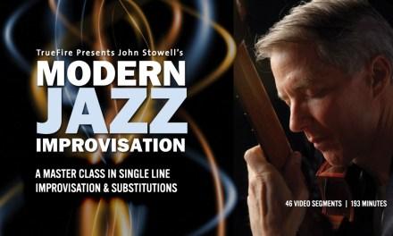 Modern Jazz Improv – #1 Introduction – Jazz Guitar Lessons