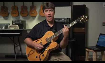 Jazz Guitar tutorial lesson