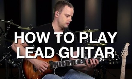 Learn How To Play Lead Guitar – Lead Guitar Lesson #1