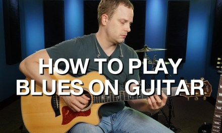 How To Play Blues On Guitar – Blues Guitar Lesson #1