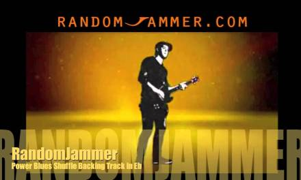 Power Blues Shuffle Backing Track in Eb