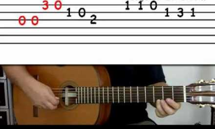 Guitar lesson 4A : Beginner — 'Happy Birthday' on three strings