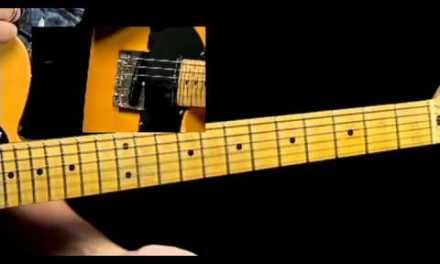 50 Texas Blues Licks – #22 Grange Change – Guitar Lesson – Corey Congilio