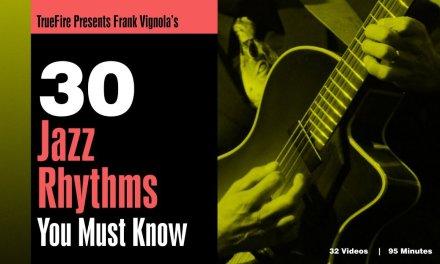 Frank Vignola's 30 Jazz Guitar Rhythms You MUST Know – Intro