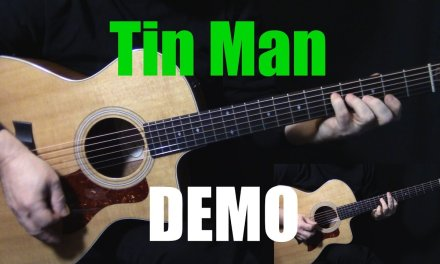 "DEMO | how to play ""Tin Man"" on guitar by America 