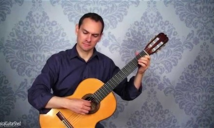 Sor Classical Guitar Piece: Study in C – Full Lesson with free pdfs (1/5)