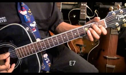 Old School Blues Guitar Lesson #7 Thelonious Monk Style Movement EricBlackmonMusicHD