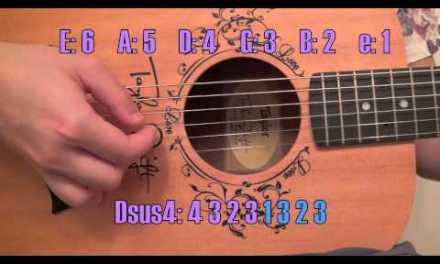 """Begin Again"" – Taylor Swift EASY Guitar Tutorial/Chords (No Capo)"