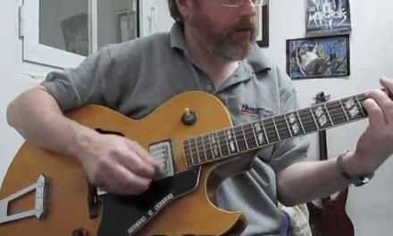 Jazz Guitar Lesson: Soloing Techniques:Intermediate