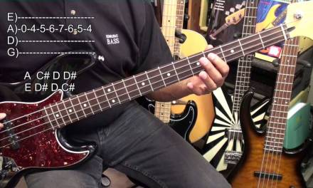 EASY Blues On Bass Guitar In A Tutorial Lesson EBMTL HD