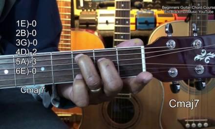 Absolute Beginners EASY Guitar Chord Course Lesson 1 EricBlackmonMusicHD YouTube