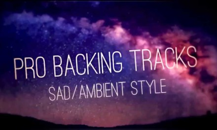 Sad Ambient Backing Track (Am) – Pro Backing Tracks