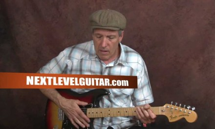 Learn how to play John lee Hooker blues inspired guitar song Boogie Chillen style lesson