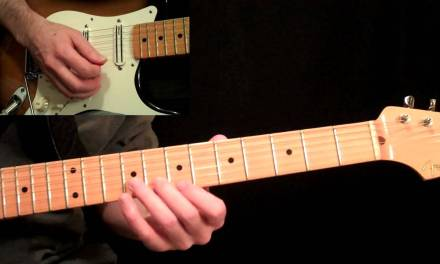 Stevie Ray Vaughan – Pride And Joy Guitar Lesson Pt.1 – Intro