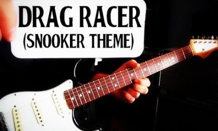 SNOOKER THEME, BBC, DRAG RACER, LEAD GUITAR BREAKDOWN/LESSON/HOW TO PLAY