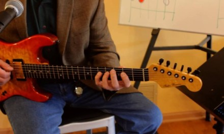 How to Solo and Improvise using Dorian Mode Guitar Lesson