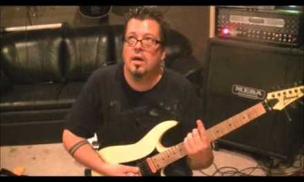 How to play Power Of Love by Huey Lewis on guitar by Mike Gross