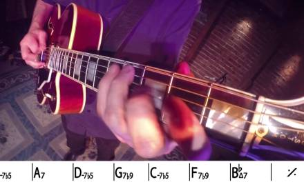 Bruce Forman Jazz Guitar Solo with GoPro HERO3+