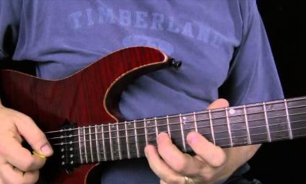 Blues Scale Lick – Guitar Lesson