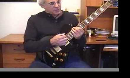 """Major Scale Lesson 1: """"Complete Scale and Chord Theory for Guitar"""" by Joe Livoti"""