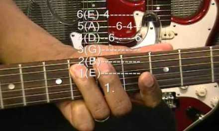 Guitar Close Up Ab Minor R&B Funk Rock Blues Riff Lesson How To Play On Guitar