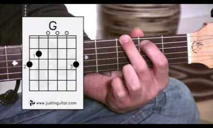 G Chord – Guitar For Beginners – Stage 3 Guitar Lesson – JustinGuitar [BC-131]