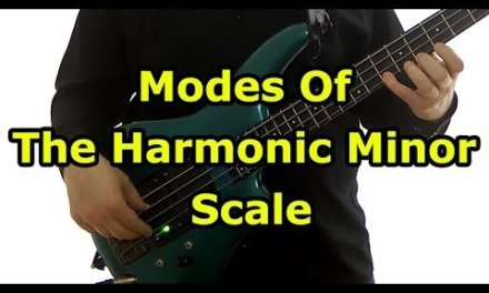Modes Of The Harmonic Minor Scale  (L#179)