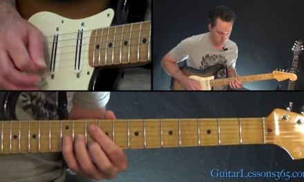 Boston – Peace of Mind Guitar Lesson Pt.2 (Chords/Rhythms)