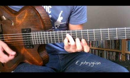 Jazz Guitar Mini Lesson #6 – Modal Voicings