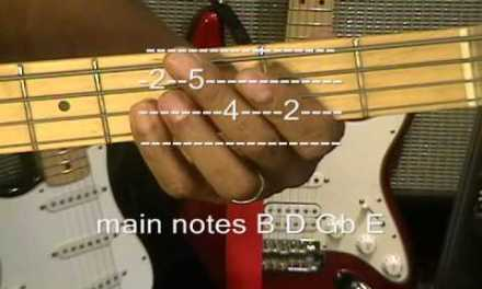 Get Lucky Daft Punk Bass Guitar Lesson Nile Rodgers Tutorial YouTube