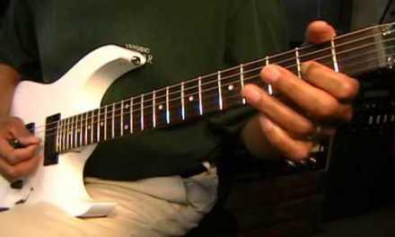 Ozzy Osbourne Randy Rhoads Electric Lead Lick Lesson Prt 1 EricBlackmonMusic