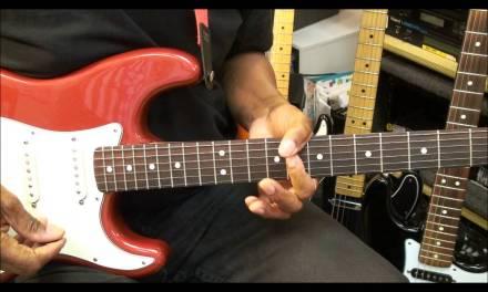 Funky R&B Chord Riff #5 How To Stank On Electric Guitar FunkGuitarGuru Funk