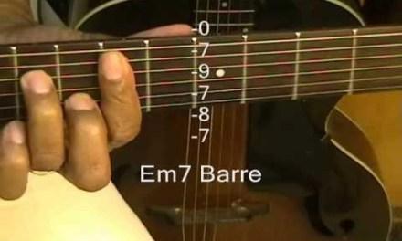 How To Play Guitar Chords Tutorial #49 Minors & Minor 7 The Way No Capo EricBlackmonGuitar