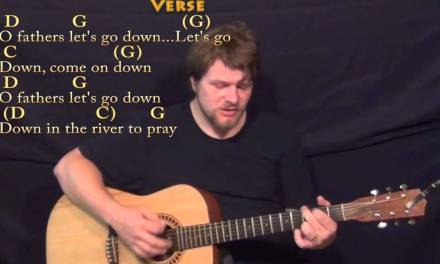 Down in the River to Pray – Strum Guitar Cover Lesson in G with Chords/Lyrics