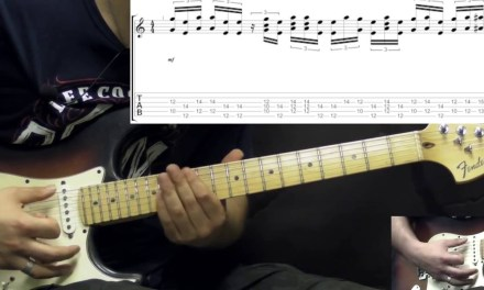 Stevie Ray Vaughan – Little Wing – Rock/Blues Guitar Lesson Part4 (w/Tabs)