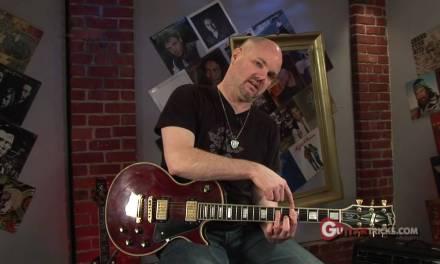 Stop String Noise – Easy Guitar Lesson – Rock Guitar Solo – Guitar Tricks 44