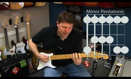 Basic Guitar Lesson: The Minor Pentatonic Scale