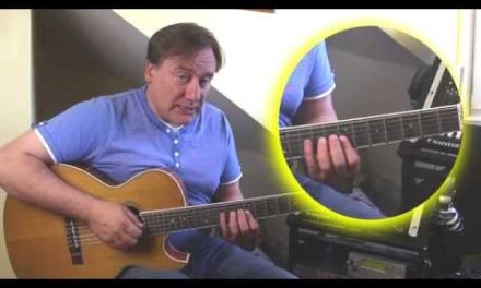 Guitar Pentatonics Lesson – Five position pentatonic scales up the fretboard