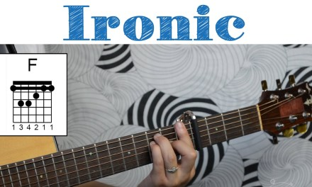Ironic – Alanis Morissette   Easy Guitar Tutorial, Simple Chords and Strumming