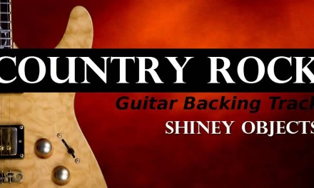 Country Rock Guitar Backing Track – Shiney Objects
