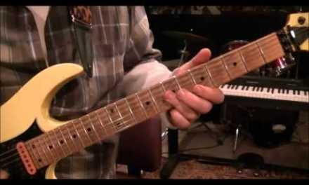 How to play Rikki Dont Lose That Number by Steely Dan on guitar by Mike Gross